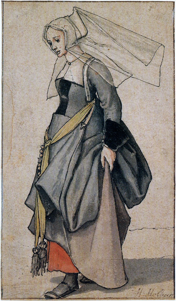Englishwoman by Hans Holbein the Younger