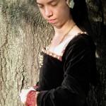 Black velvet Tudor Gown 2