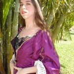 Plum Pirate Gown Photo1