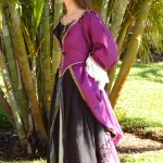 Plum Pirate Gown Photo 2