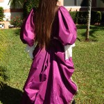 Plum Pirate Gown Photo 4