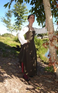 Brown/Green Wool Kirtle