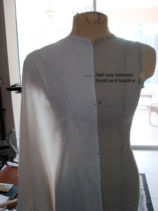 Pattern Draping Tutorial: Gown or Kirtle Bodice - Centuries