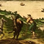 Civitates Orbis Terrarum II 1575: Vejer de la Frontera, Spain
