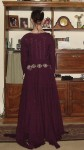 WiP Early Purple Kirtle Back View