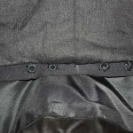 Eyelet band inside the doublet