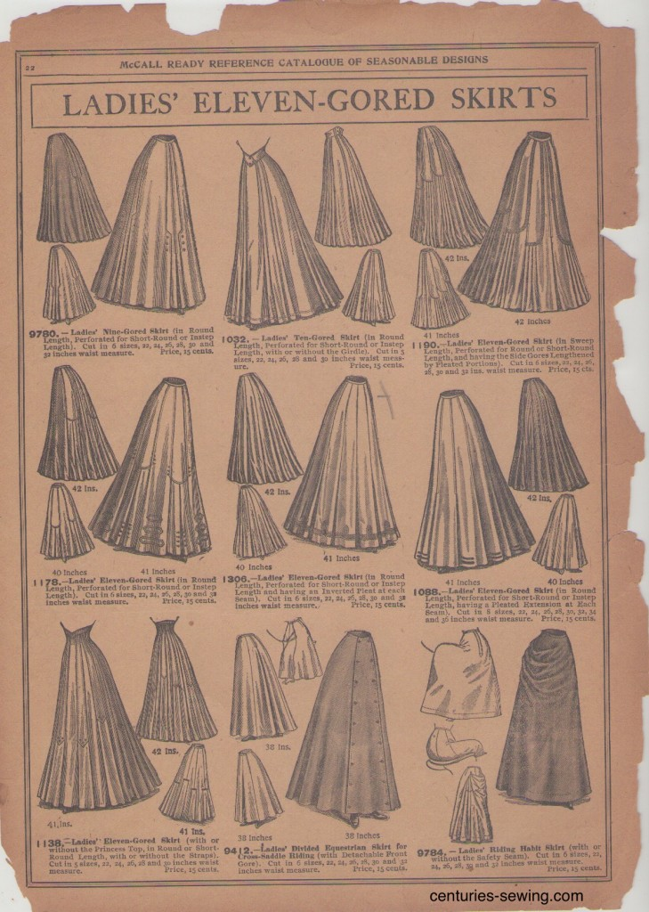 McCalls 1907 Pattern Catalogue