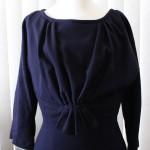 1950's Blue Wool Dress