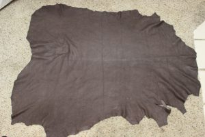 dark brown leather for the jerkin