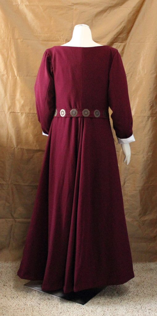 Wool Kirtle Back View