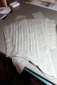 canvas padstitched