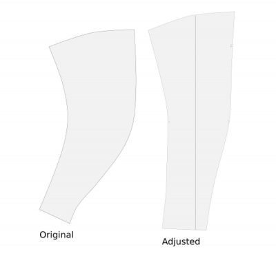 Sleeve Pattern Adjusted