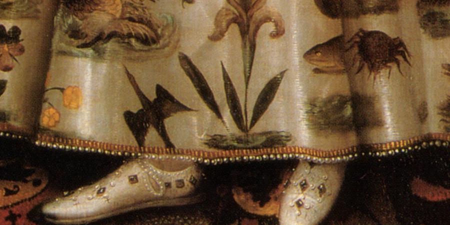 Shoe Detail Elizabeth_I_of_England_Hardwick_1592