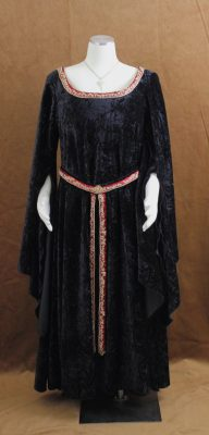 Velvet Elven Dress Full Shot