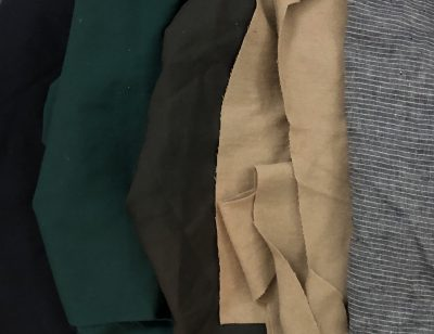 Sleeve fabric choices