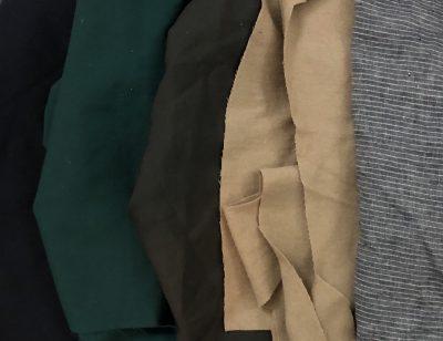 Sleeve fabric choices