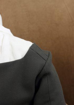 shoulder strap piecing