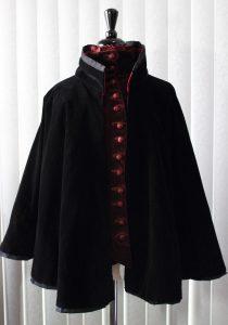 Black Velvet Cloak