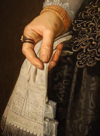 Embroidered Glove Cuffs